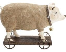 Figurka dekoracyjna Pig On Wheels 29x20 cm