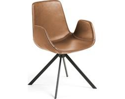 Krzesło Yasmin 54x84 cm brązowe