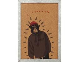 Tablica Gangster Monkey 41x60 cm