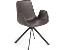 Krzesło Yasmin 54x84 cm ciemnobrązowe