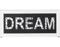 Obraz Mirror Dream 51x24 cm biało-czarny