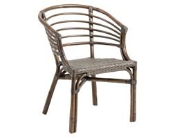 Krzesło ogrodowe Confidence 51x76 cm brązowe