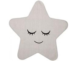 Dywan Star 100x100 cm biały