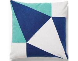 Poduszka dekoracyjna Witz 45x45 cm niebiesko-granatowa