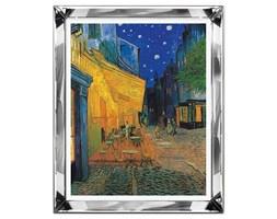 VAN GOGH - TARAS KAWIARNI W NOCY obraz w lustrzanej ramie, 51x61 cm