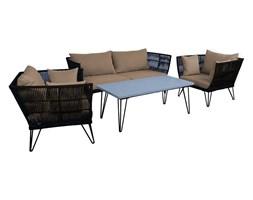 OUTLIV. Timor Komplet sofa/stół/fotele