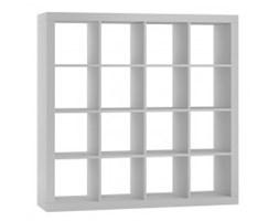 Regał z półkami Loki 4x4 biały