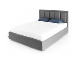 Łóżko tapicerowane 160x200 Beholder,  ciemnoszare z szufladą
