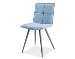 Krzesło do jadalni Brita niebieskie