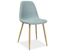 Krzesło tapicerowane Mary miętowe