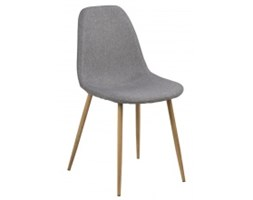 Krzesło do jadalni Kryspin II jasnoszary