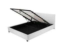 Łóżko z pojemnikiem Veronica, 160x200, białe
