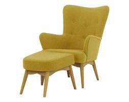 Fotel uszak z podnóżkiem Savano