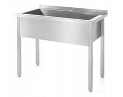 Stół z basenem jednokomorowym -spawany 800x600x(H)850 kod 811825