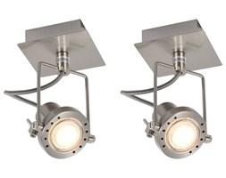 vidaXL Reflektory, 2 szt., srebrne, GU10