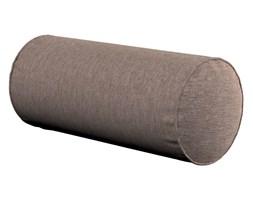 Dekoria Poduszka wałek prosty, szaro-beżowy szenil, Ø16 × 40 cm, Etna
