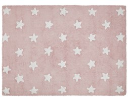 Dywan Pink Stars White 120x160 cm