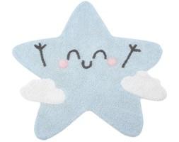 Dywan Happy Star 120x120 cm błękitny