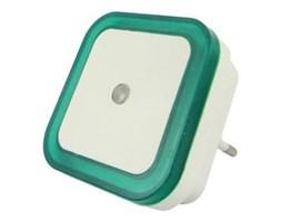 LED Nocne światło z czujnikiem LED/0,5W/230V zielony