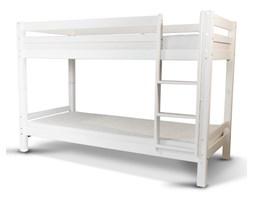 Łóżko piętrowe Felippe z sosnowego drewna ze stelażem