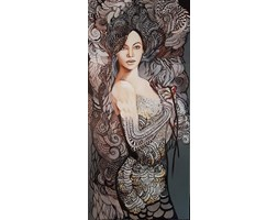 giclee - Madame Butterfly B - Pop Divy  - 70x150 cm