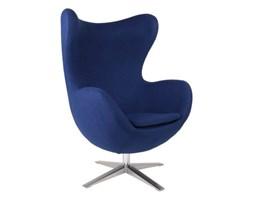 Fotel Jajo D2 szeroki tkanina niebieska kod: 5902385714440