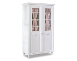 Biała szafa Romantica 2 Door Wardrobe With Window