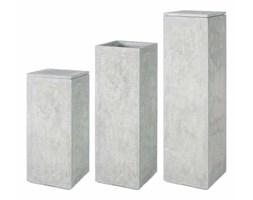 Donica Postument Division Plus Naturalny Beton - Nakładka na postument