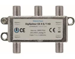 Rozdzielacz antenowy TECHNISART CE 4 S/T HD