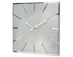 Duży zegar na ścianę biały EXACT 30cm