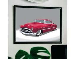 Czerwony samochód plakat 3003 - Buy Design