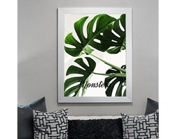 Dekoracja do salonu plakat monstera 26441 - Buy Design