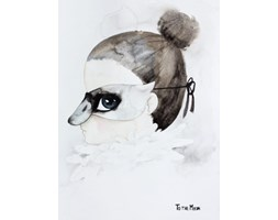 Plakat Łabędź / Swan
