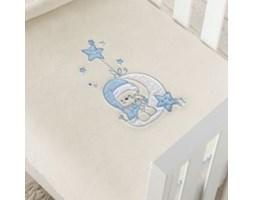 Koc dziecięcy LUNA 2 niebieski 80 x 110 cm