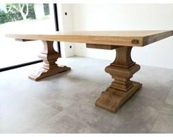 Stół dębowy masywne rzeźbione nogi Classico