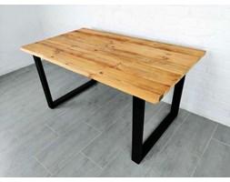 Stół drewniany ze starego drewna i stali Sozon