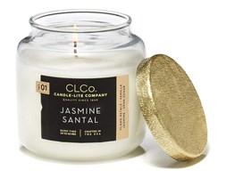 Świeca zapachowa Candle-lite CLCo duża w szkle - Jasmine Santal