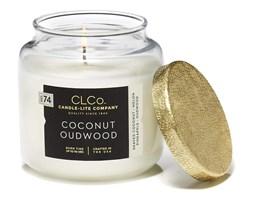 Świeca zapachowa Candle-lite CLCo duża w szkle - Coconut Oudwood