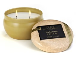 Świeca zapachowa Candle-lite CLCo dwa knoty - Jasmine Santal