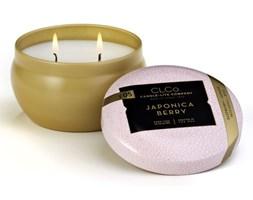 Świeca zapachowa Candle-lite CLCo dwa knoty - Japonica Berry