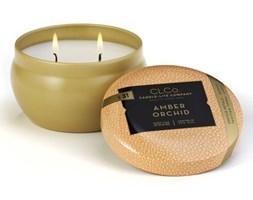 Świeca zapachowa Candle-lite CLCo dwa knoty - Amber Orchid