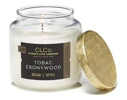 Świeca zapachowa Candle-lite CLCo duża w szkle - Tobac Ebonywood