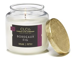Świeca zapachowa Candle-lite CLCo duża w szkle - Bordeaux Fig