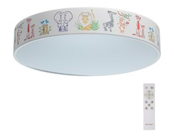 De Markt - LED Plafon dziecięcy HI-TECH 1xLED/50W/230V + pilot