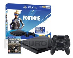 Sony PlayStation 4 Slim 500GB + Fortnite Neo Versa Bundle + Days Gone + 2 pady
