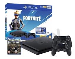 Sony PlayStation 4 Slim 500GB + Fortnite Neo Versa Bundle + Days Gone + 2 pady- szybka wysyłka! - Raty 30x0%