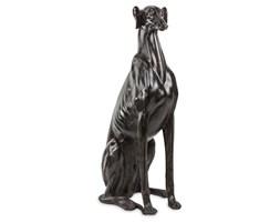 PIES CHART SIEDZĄCY figurka, dekoracja czarna, wys. 80 cm