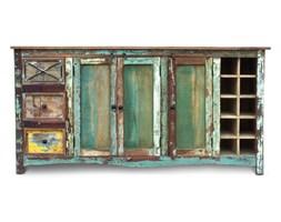 Indiagrande -  Komoda wykonana w 100% ręcznie z drewna odzyskanego ze starych domów i łodzi pochodzenia indyjskiego. Drewno odzyskane