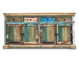Indialupa - Komoda wykonana w 100% ręcznie z drewna odzyskanego ze starych domów i łodzi pochodzenia indyjskiego. Drewno odzyskane