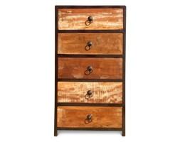 Indiareta - Komoda wykonana w 100% ręcznie z drewna odzyskanego ze starych domów i łodzi pochodzenia indyjskiego. Drewno odzyskane